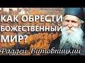 Как обрести Божественный мир Старец Фаддей Витовницкий mp3