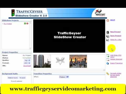 Traffic Geyser Tips To Create Online Video From Slide Show Presentations