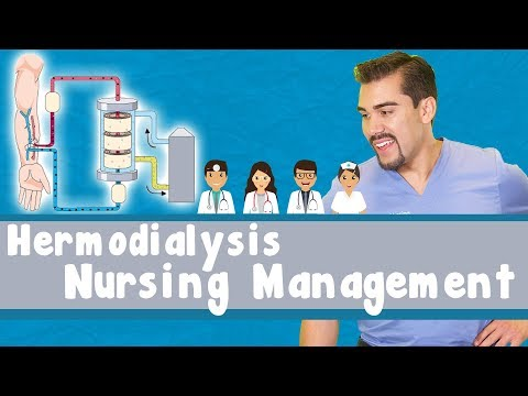 Hemo Dialysis (labs, H h, Cautions) Nursing Students video