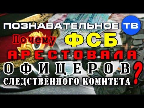 Почему ФСБ арестовала офицеров Следственного Комитета? (Познавательное ТВ, Артём Войтенков)