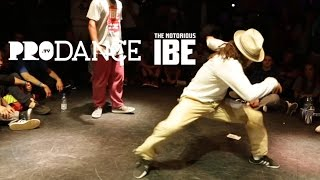 Finał Popping na IBE 2016: SwaLLi ... vs BROOKE