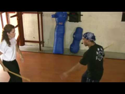 Filipino Martial Arts: JKD Kali Attack techniques Stick SDA (Single Direct Attack) Image 1