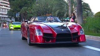 1 of 1 Ferrari Sbarro Tornado SB1 on the road in Monaco!