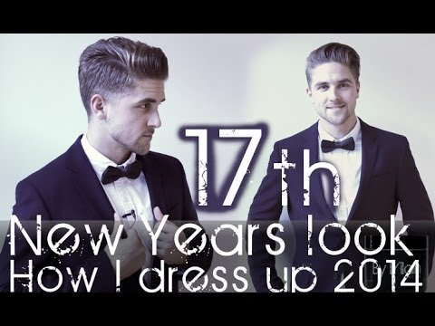 How to style men's Hair and Dress for New Year's eve 2014 By Vilain Silver Fox