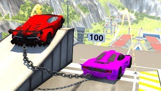High Speed Jumps&Crashes #31 - BeamNG Drive Crash Testing