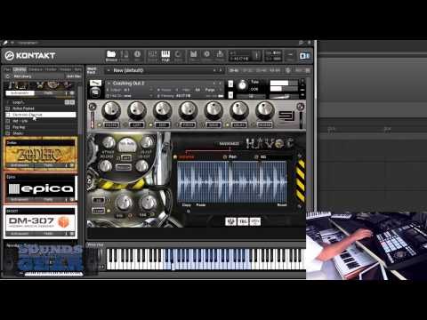 Sample Logic Havoc Cinematic Persussive Library Review - Soundsandgear video