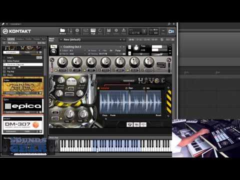 Sample Logic Havoc Cinematic Persussive Library Review - Soundsandgear video