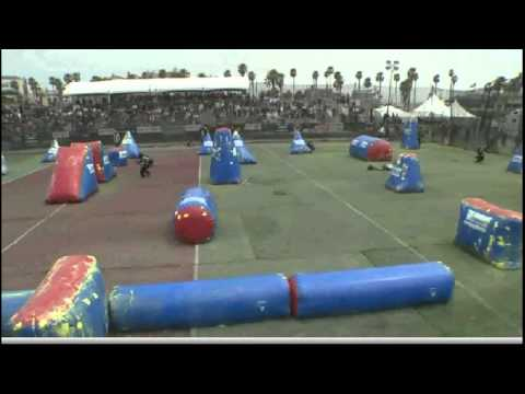 Dynasty vs Aftershock 2011 NPPL Surf City Open paintball