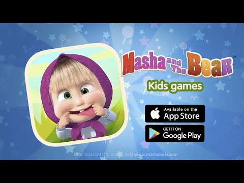 Masha and the Bear: New kids games (iOS & Android)