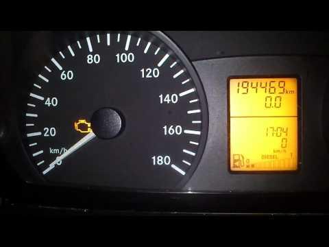 Kasowanie Inspekcji Mercedes Sprinter 906 Oil Service Indicator Light Reset Mercedes Sprinter 906