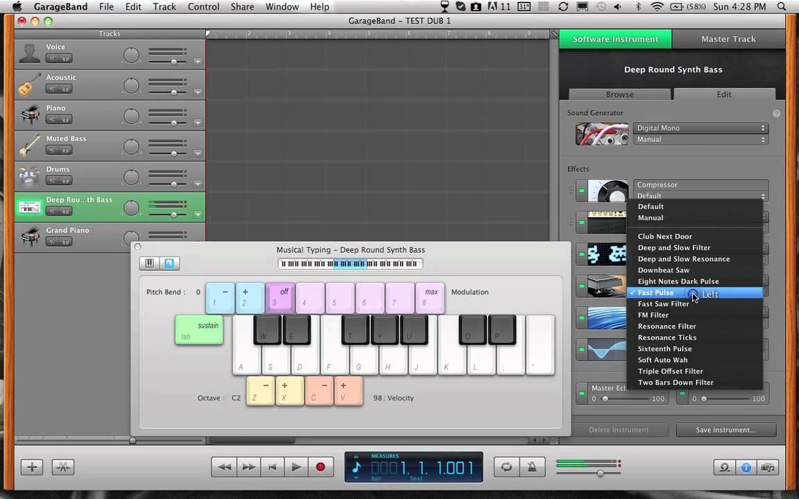 how to delete garageband from mac