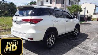 2018 Toyota Fortuner - HD 360 VIEW - Walk Around - Pearl White - 2.4 V Diesel