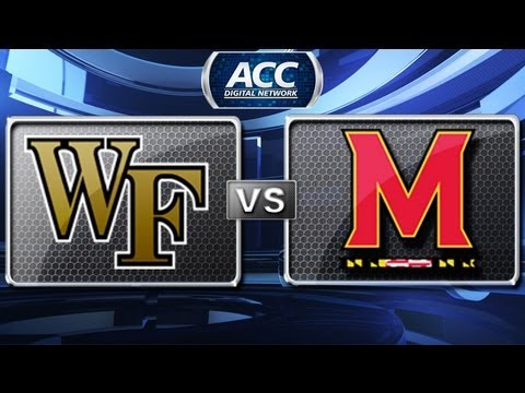 Wake Forest Demon Deacons vs Maryland Terrapins - Highlights 2012