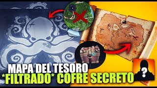 *FILTRADO* COFRE SECRETO *MAPA DEL TESORO* DESCUBRIMIENTO MISTERIOS   FORTNITE BATTLE ROYALE