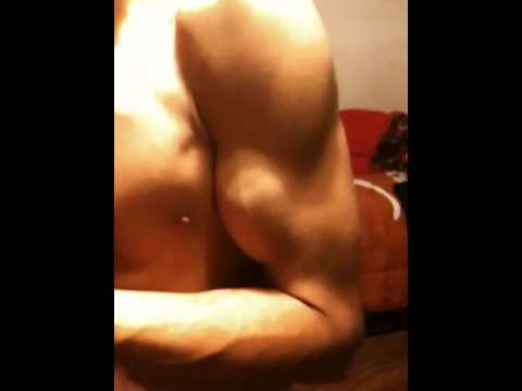 16 Year Old - Flexing Muscle