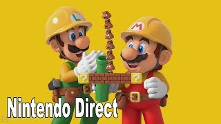 Super Mario Maker 2 - Full Nintendo Direct Presentation [HD 1080P]