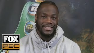 Deontay Wilder discusses his title defense against Dominic Breazeale | INSIDE PBC BOXING