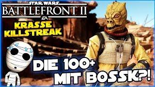 Schaffen wir 100 Eliminierungen mit Bossk?!? - Star Wars Battlefront II #157 - Lets Play deutsch