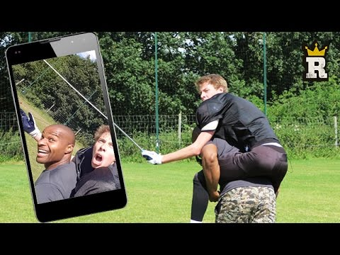 CALFREEZY SELFIE GAME ON POINT?! | Rule'm Sports