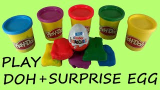 Special Surprise Egg and Play Doh Fun