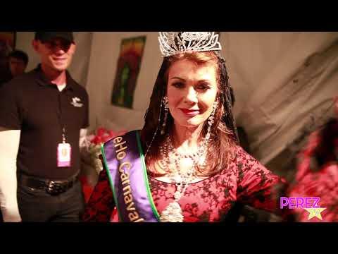 EXCLUSIVE! Lisa Vanderpump Gets Crowned As Queen of Carnaval!