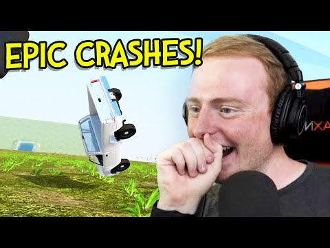 BeamNG Drive - BIGGEST DESTRUCTION TEST EVER!! (BeamNG Drive Gameplay)