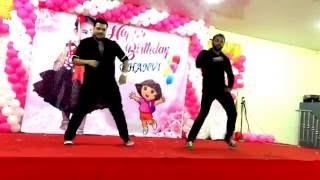 birthday dance function (Deewani mastani/Kala Chasma/Cham Cham choreography) Full HD!!
