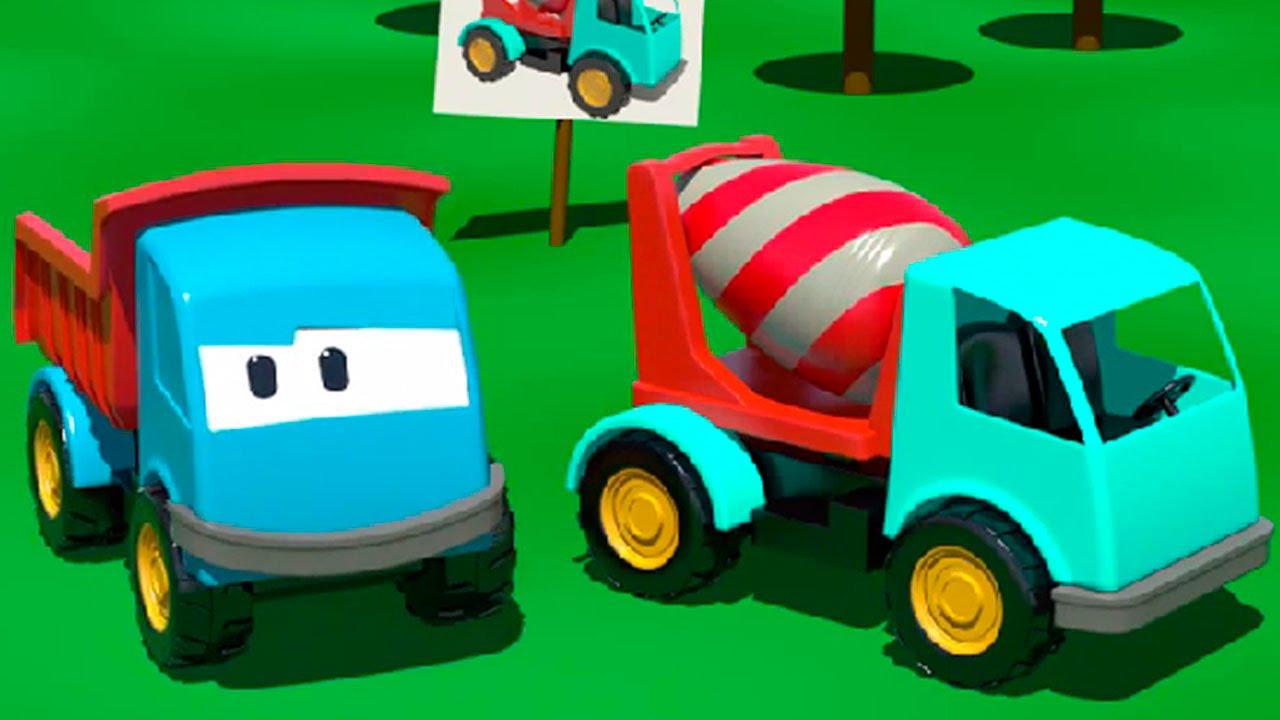 Cartoni animati per bambini leo il camion curioso e la