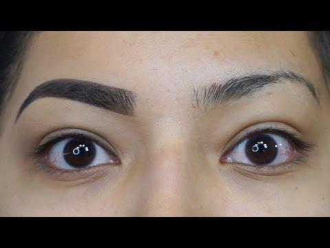 Eyebrow Tutorial Using NEW LAGIRLCOSMETICS DARK & DEFINED BROW KIT