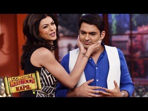Sushmita Sen SEDUCES Kapil Sharma on Comedy Nights With Kapil 19th April 2014 EPISODE