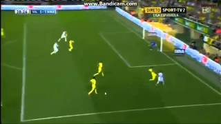 Villarreal vs Real Madrid 2-2 (14-09-2013) gareth bale goal