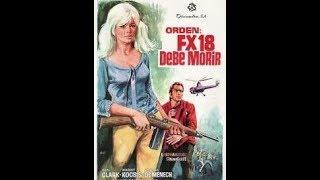 KEN CLARK in FX-18: SECRET AGENT USA, 1964. Euro-Spy. FULL movie in English.