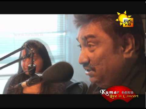Kumar Sanu Live In Hiru Fm Studio, Sri Lanka video