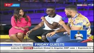 Betty hangs out with Big Shaq and Big Tobz on Friday Briefing