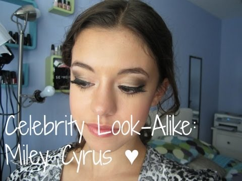 Celebrity Look Alike: Miley Cyrus (Makeup & Outfit)
