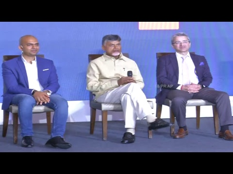 Honorable CM of AP Participation in Mi TV Announcement Make in India at Tirupathi Live