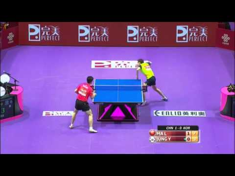 2016 World Championships Highlights: Ma Long Vs Jung Youngsik