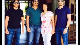 Akkineni Nagarjuna Family Video