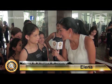 Sábado Espectacular - Marina Mora y su escuela de modelaje