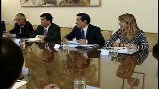 video Ministros y presidentes de los partidos de la Nueva Mayoría debatieron el cómo enfrentar esta arista del Caso Penta.