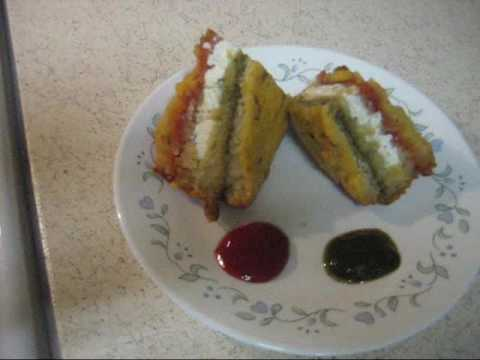 Tricolour   Tiranga Bread Sandwich - Indian Vegetarian Snacks Recipe By Neha video