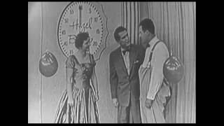 BEAT THE CLOCK 1950s TV GAME SHOW BUD COLLYER
