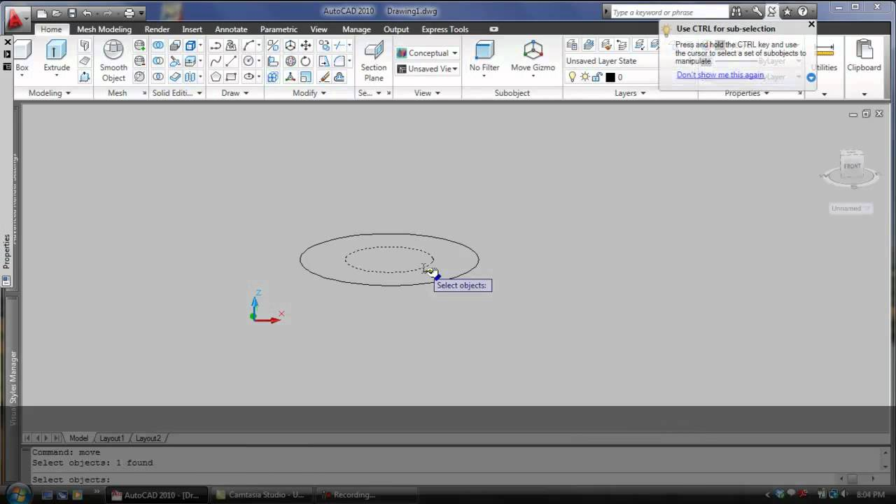 Autocad Loft Command Loft Command in Autocad Mp4