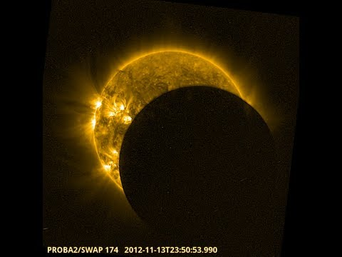 0 An out of this world view of this week's solar eclipse