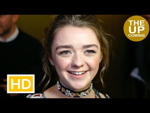 Maisie Williams on The Falling, Games of Thrones, Jon Snow, Arya at UK Critics' Circle Awards 2016