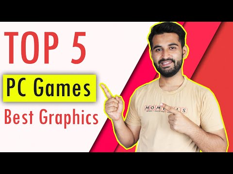 [HINDI] TOP 5 PC Games with Best REALISTIC Graphics : April 2018