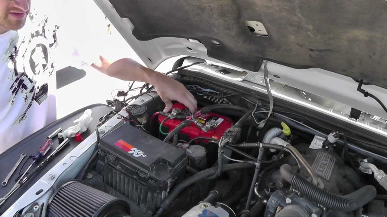 Jeep Wrangler Optima Battery Replacement