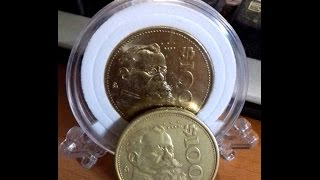 PRECIO DE MONEDAS 100 pesos Carranza