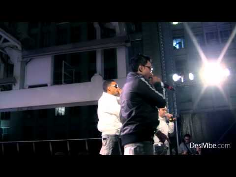 The Bilz And Kashif Performing At Desifest 2011 - Exclusive Coverage By Desivibe video