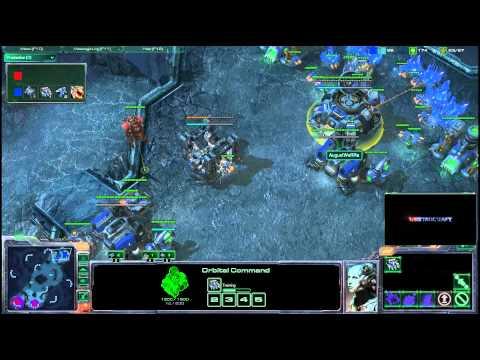 HD Starcraft 2 oGs.Cool v AugustWeRRa